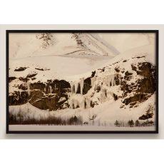 Snowy Mountain Photograph