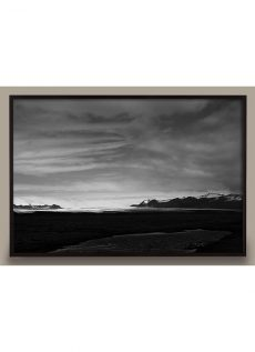 Iceland Black and White Photo