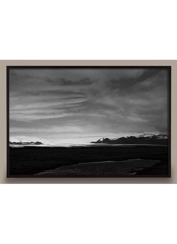 Iceland Black and White Photo