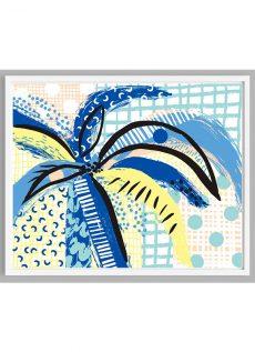 Hand-drawn Palm Tree Print