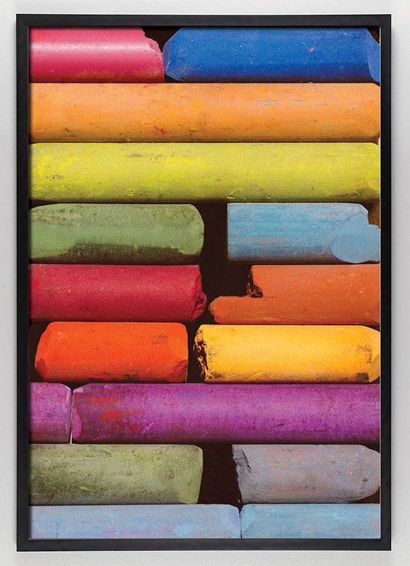 bright colored art