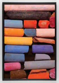 multi colored global colored art