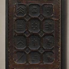 framed antique book cover art print