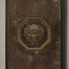 antique book art print
