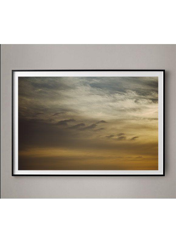 golden clouds photo