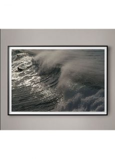 crashing waves photograph