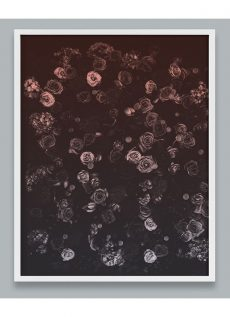 Flower Wall Art with Roses