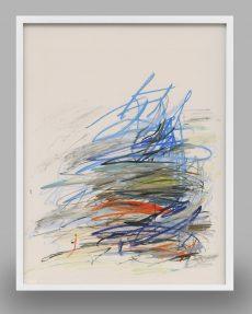 mid-century abstract art print