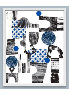 Esther Cox for DDE Collage Print