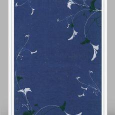 antique botanical textile prints