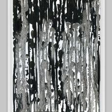 black and white abstract affordable art