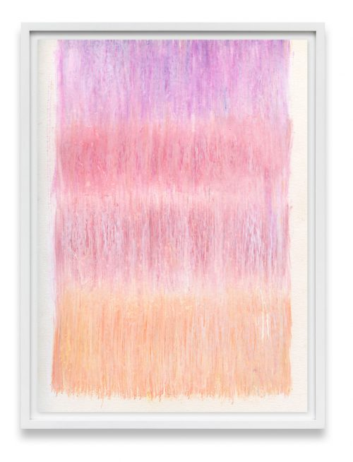 pink and peach abstract print