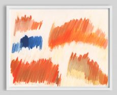 colorful diptych wall art