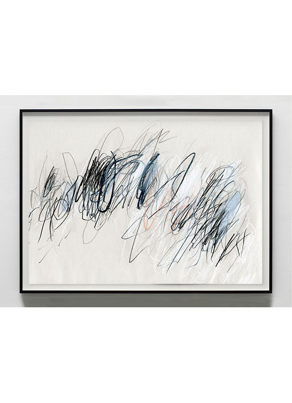 abstract art with black and grey