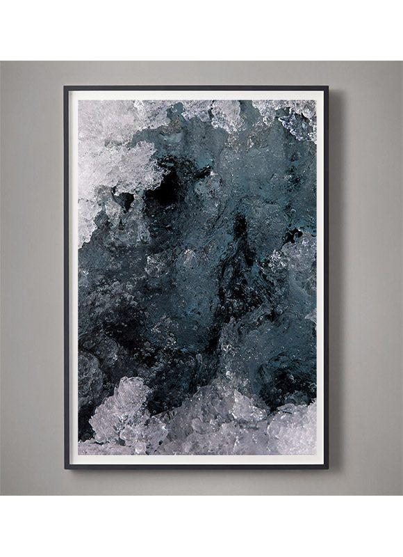framed Glacier photography for sale